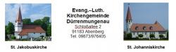 Bild / Logo Evang.-Luth. Kirchengemeinde Dürrenmungenau mit Abenberg