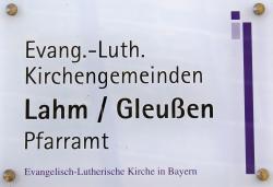 Bild / Logo Evang.-Luth. Kirchengemeinde Lahm im Itzgrund mit Gleußen