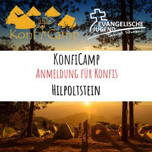 Anmeldung KonfiCamp@home - Hilpoltstein