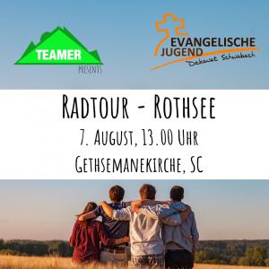 Radtour zum Rothsee