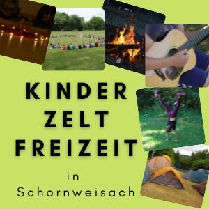 Kinderzeltfreizeit in Schornweisach