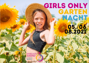 girls only Garten Nacht