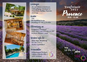 Teenfreizeit Provence