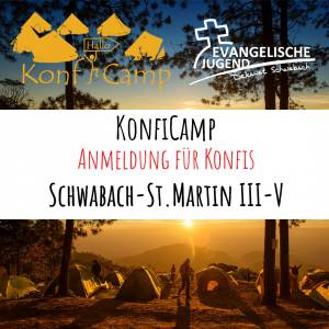 Anmeldung KonfiCamp@home - St.Martin III-V (Wolf&Bock)