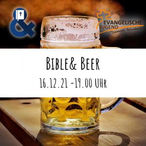 Bible& Beer