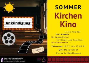 Sommer Kirchen Kino